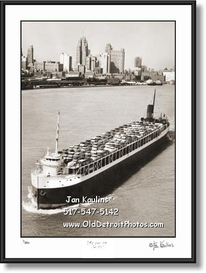 Click on this image to see an enlarged view of GREAT LAKES FREIGHTER 1953 Chryslers photo.