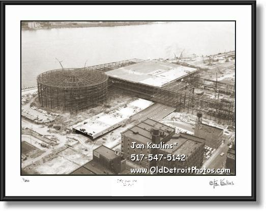 Click on this image to see an enlarged view of COBO HALL Cobo Arena COBO construction photo.