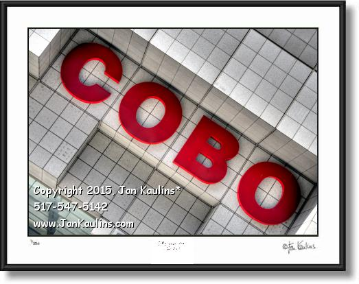 Click on this image to see an enlarged view of COBO HALL COBO Detroit photo picture art print.