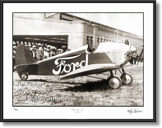 Click on this image to see an enlarged view of 1927 FORD MONOPLANE 'The Flivver' photo print.