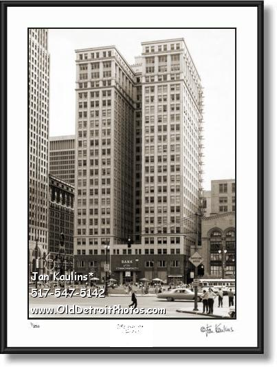 DIME BUILDING DETROIT photo print DIME BLDG