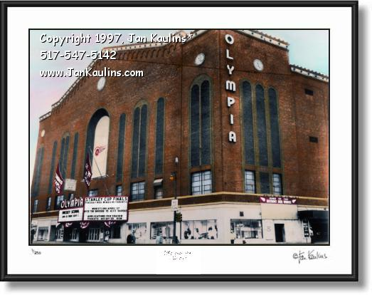 Click on this image to see an enlarged view of Olympia Stadium Detroit photo Olympia Stadium.