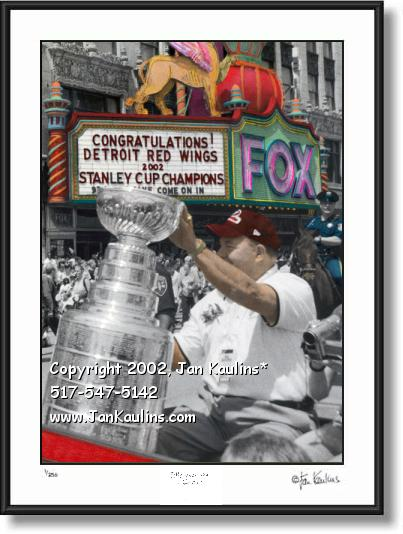 Scotty Bowman STANLEY CUP Red Wings photo