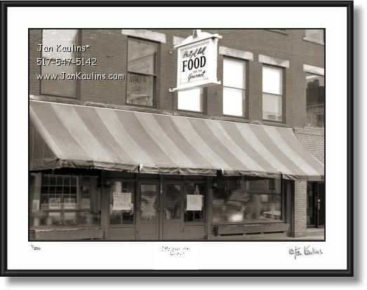 Click on this image to see an enlarged view of Old ANN ARBOR photo art print MAIN ST. 1903.