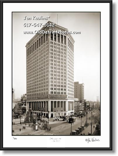FIRST NATIONAL BUILDING Detroit 1921 photo