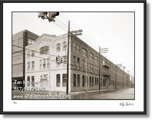 FORD PIQUETTE PLANT Detroit photo print