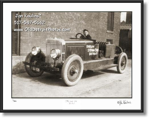 DETROIT BARLOW STEAM CAR 1921 photo print