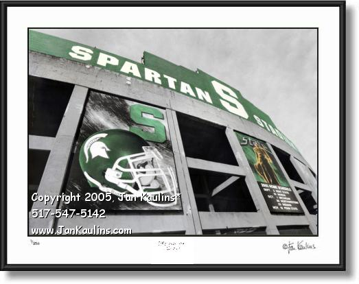 Michigan State photo MSU Spartan Stadium MSU