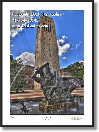 UofM BURTON TOWER UofM photo picture print