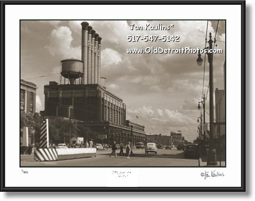 OLD HIGHLAND PARK FORD PLANT photo print