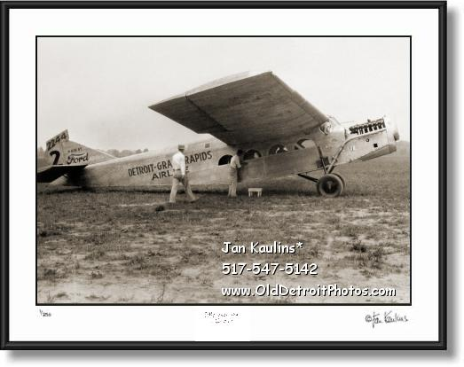DETROIT GRAND RAPIDS AIRLINES 1926 photo