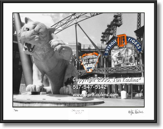 Comerica Park Detroit ALL STAR GAME photo art