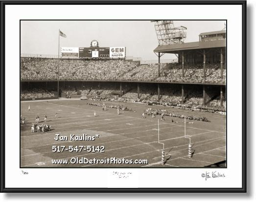 DETROIT LIONS BRIGGS STADIUM photo picture
