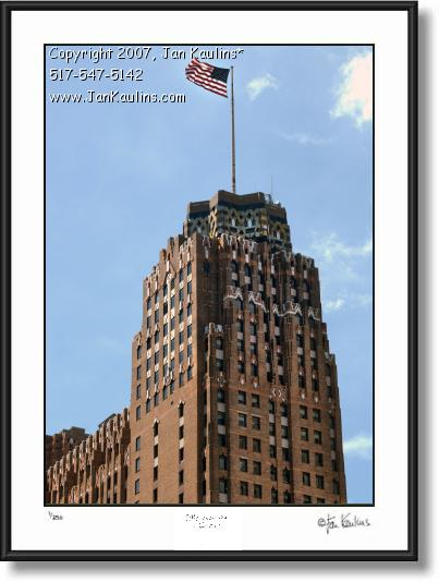 Click on this image to see an enlarged view of GUARDIAN BUILDING Detroit photo art print.