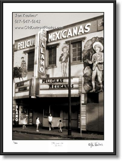 Click on this image to see an enlarged view of MEXICANTOWN DETROIT ALAMO TEATRO photo.