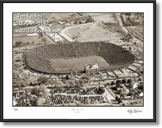 Old Vintage MICHIGAN STADIUM 1946 photo