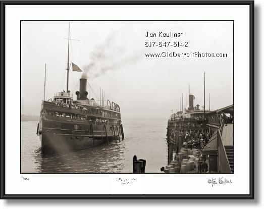 Click on this image to see an enlarged view of WESTERN STATES D&C Great Lakes Steamer photo.