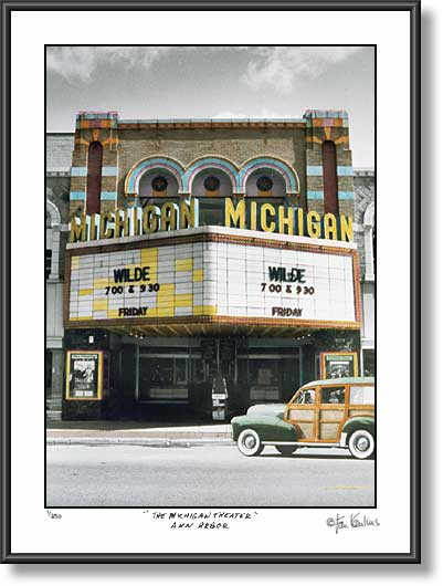 Michigan Theatre photo - Ann Arbor picture photo