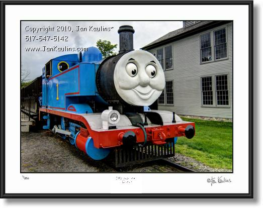Click on this image to see an enlarged view of THOMAS THE TRAIN Greenfield Village photo print.