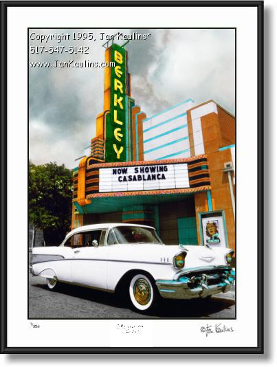 Click on this image to see an enlarged view of BERKLEY THEATRE photo Berkley Theatre print.