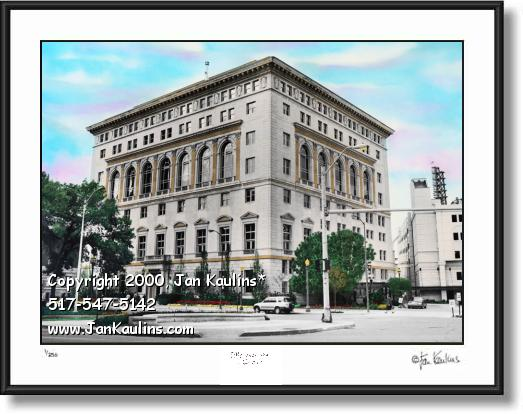 Detroit Athletic Club DAC picture photo art print