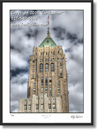 Click on this image to see an enlarged view of FISHER BUILDING Detroit photo picture print.
