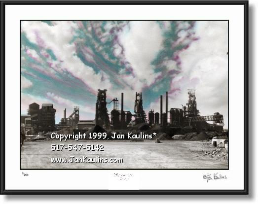 ZUG ISLAND Detroit Steel picture photo print