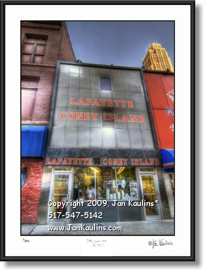 Lafayette Coney Island photo art photo print art