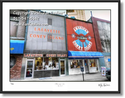 Click on this image to see an enlarged view of LAFAYETTE and AMERICAN CONEY ISLAND photo.