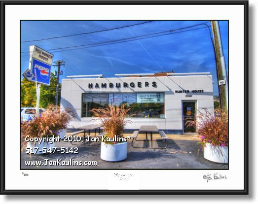 Click on this image to see an enlarged view of HUNTER HOUSE Birmingham MI photo art print.