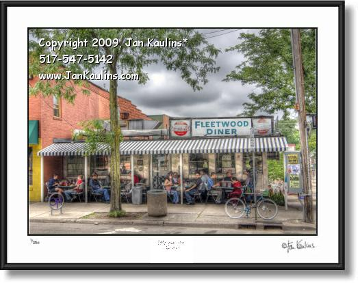 Click on this image to see an enlarged view of FLEETWOOD DINER photo Fleetwood Diner photo.