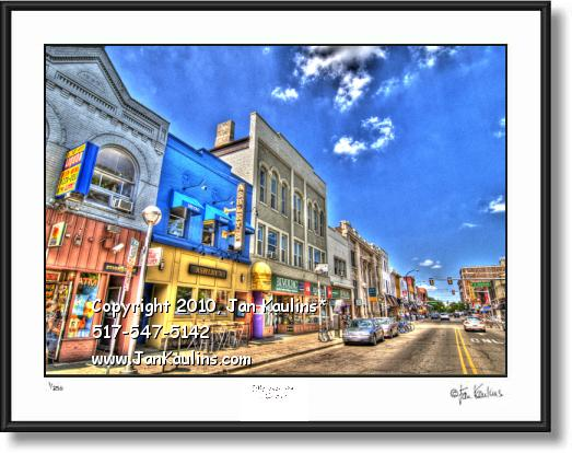 ANN ARBOR STATE ST. photo art print photo