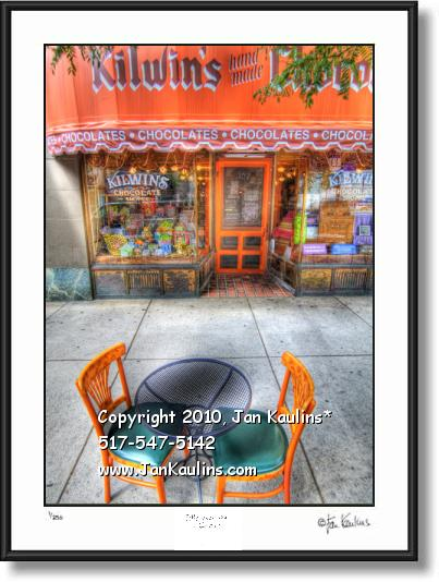 KILWIN'S CHOCOLATES Ann Arbor photo art print
