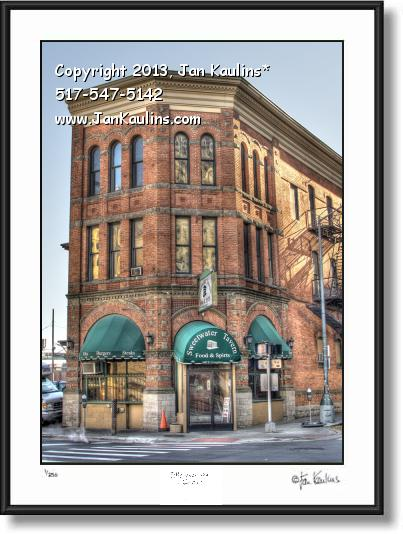 Click on this image to see an enlarged view of SWEETWATER TAVERN DETROIT photo art print.