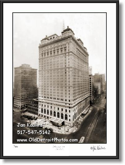 Click on this image to see an enlarged view of BOOK-CADILLAC HOTEL photo art print picture.