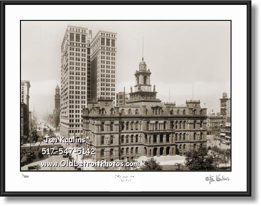 Click on this image to see an enlarged view of DIME BUILDING Detroit photo DIME Bldg. Dime.