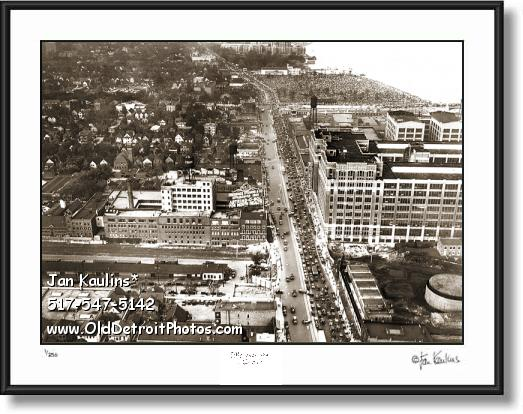 Click on this image to see an enlarged view of UNIROYAL Factory Detroit US Tire Plant photo.