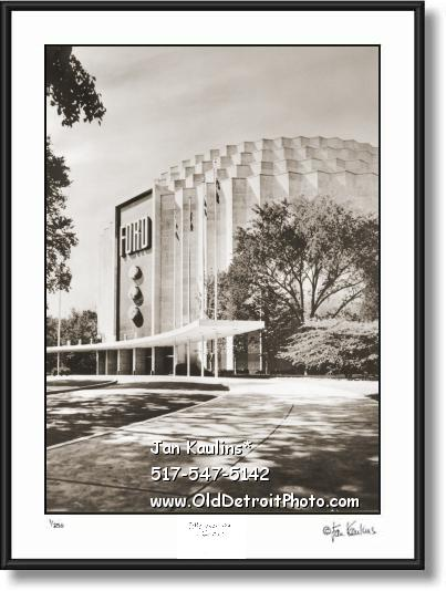 FORD ROTUNDA Dearborn photo art print picture