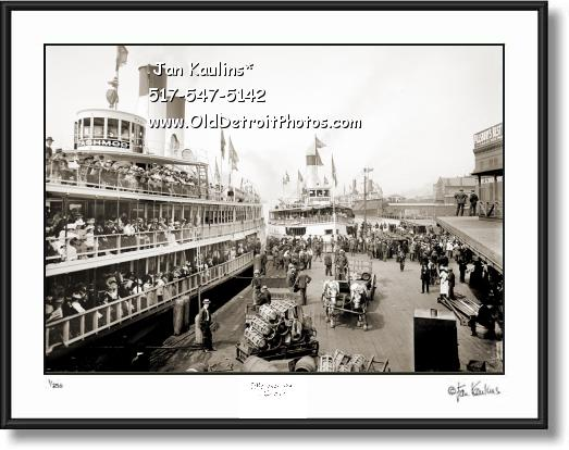 TASHMOO Detroit Excursion Steamer photo print