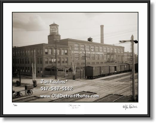 CADILLAC MOTOR COMPANY old photo print
