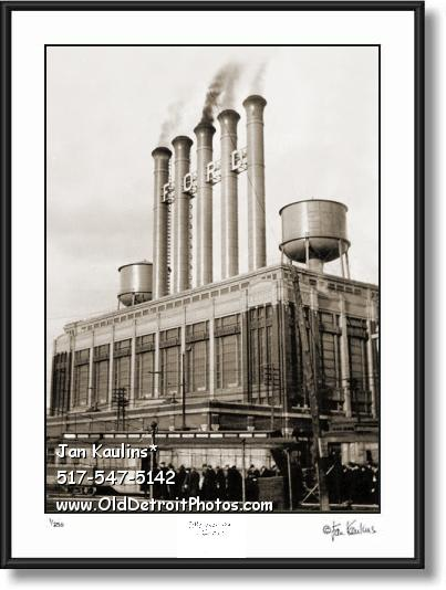 Click on this image to see an enlarged view of FORD MOTOR COMPANY HIGHLAND PARK photo.