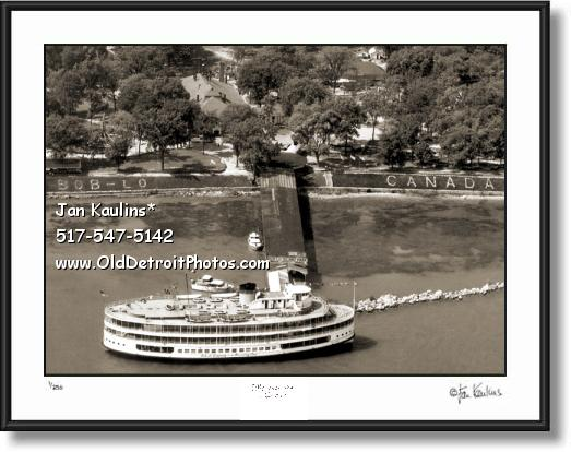 Click on this image to see an enlarged view of BOB LO BOAT & BOB-LO ISLAND photo print.