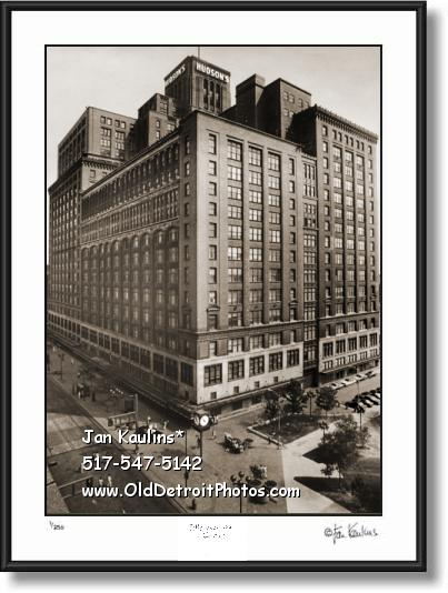 J L HUDSONS JL HUDSONS Detroit photo print