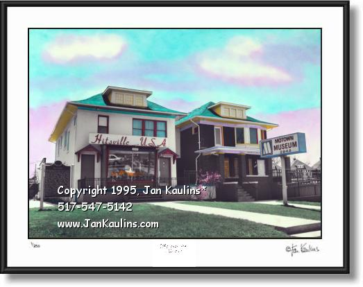 Click on this image to see an enlarged view of MOTOWN MUSEUM photo Motown photo art print.