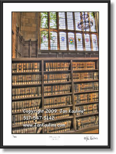 UofM LAW SCHOOL LIBRARY photo art print