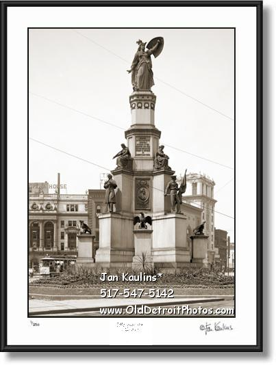 Click on this image to see an enlarged view of SOLDIERS AND SAILORS MONUMENT photo print.