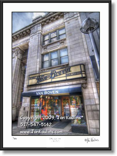 Click on this image to see an enlarged view of VAN BOVEN ANN ARBOR photo art picture print.