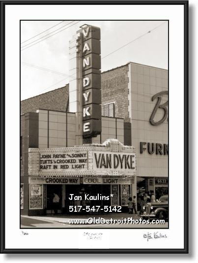 VAN DYKE Detroit Vintage Movie Theater photo