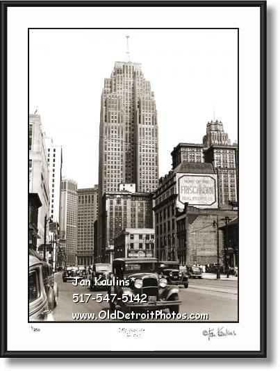 Click on this image to see an enlarged view of PENOBSCOTT BLDG old vintage photo Penobscott.