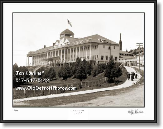 GRAND HOTEL MACKINAC old photo picture print